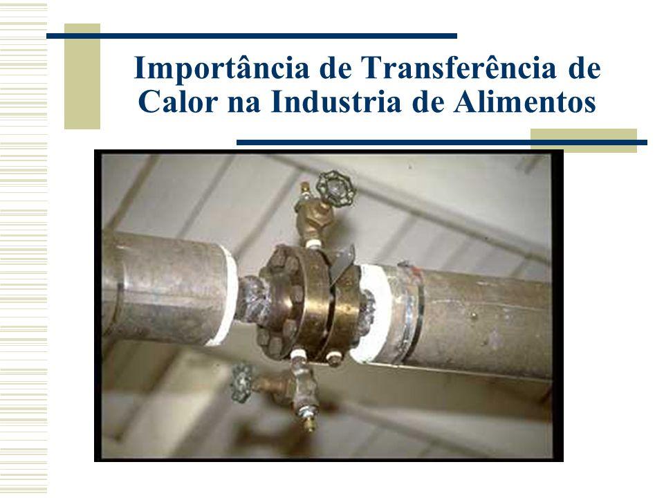 : Fluxo de calor Propriedade do material para facilitação do transferência Gradiente = Potencial Transferência da Maior temperatura para menor