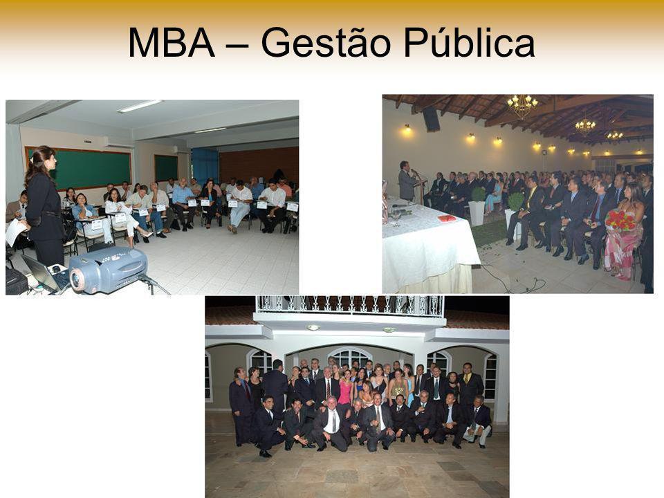 MBA – Gestão Pública