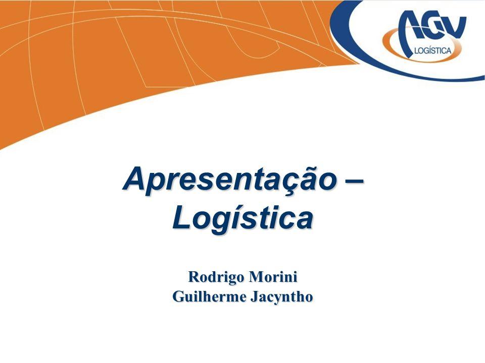 Apresentação – Logística Rodrigo Morini Guilherme Jacyntho