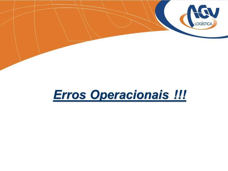 Erros Operacionais !!!