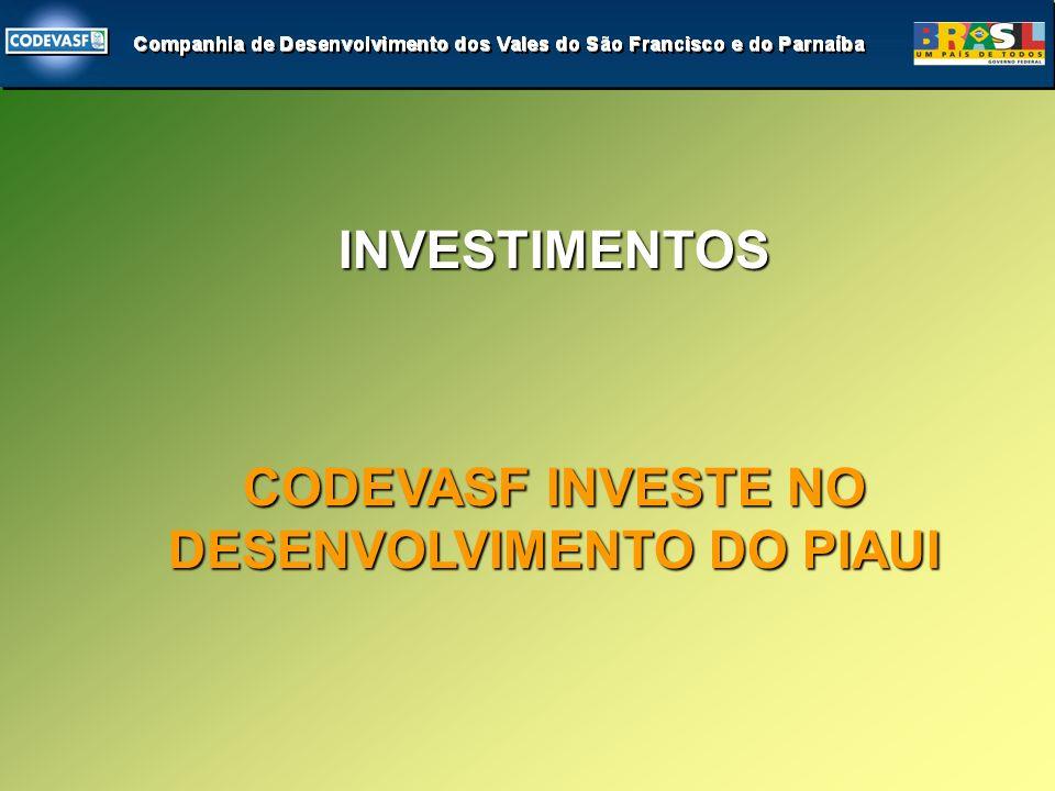 IMPLANTAÇÃO PREVISTA PARA 2006