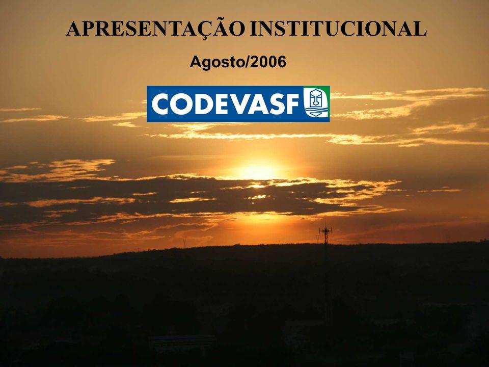 APRESENTAÇÃO INSTITUCIONAL Agosto/2006