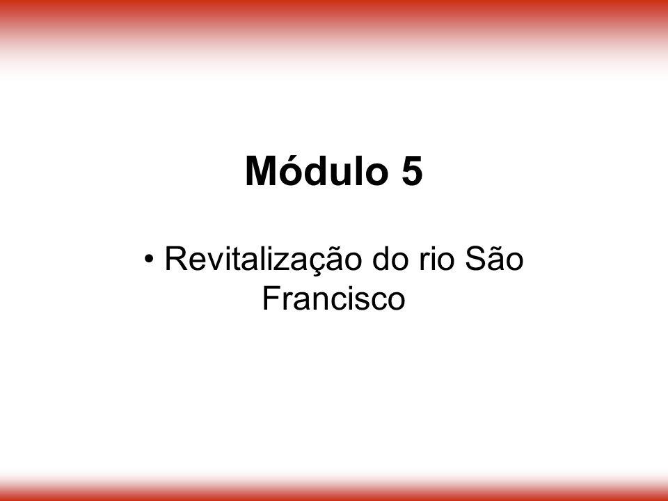 Revitalização do rio São Francisco Módulo 5