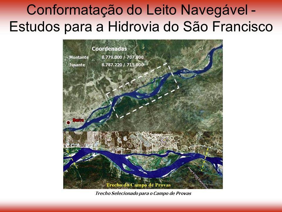 Conformatação do Leito Navegável - Estudos para a Hidrovia do São Francisco Trecho Selecionado para o Campo de Provas