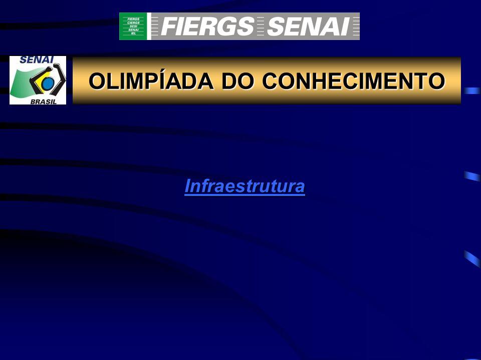 OLIMPÍADA DO CONHECIMENTO Infraestrutura InfraestruturaInfraestrutura