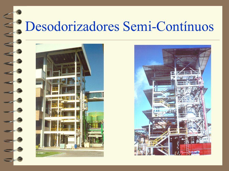 Desodorizadores Semi-Contínuos