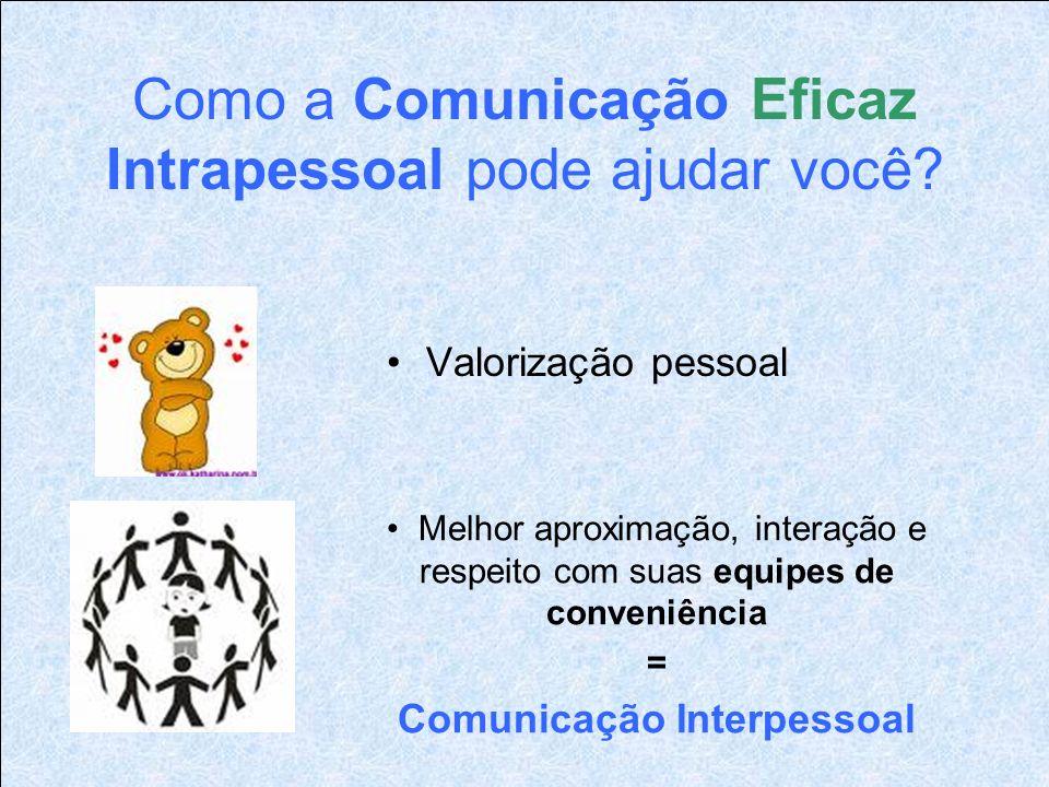 Como a Comunicação Eficaz Intrapessoal pode ajudar você.