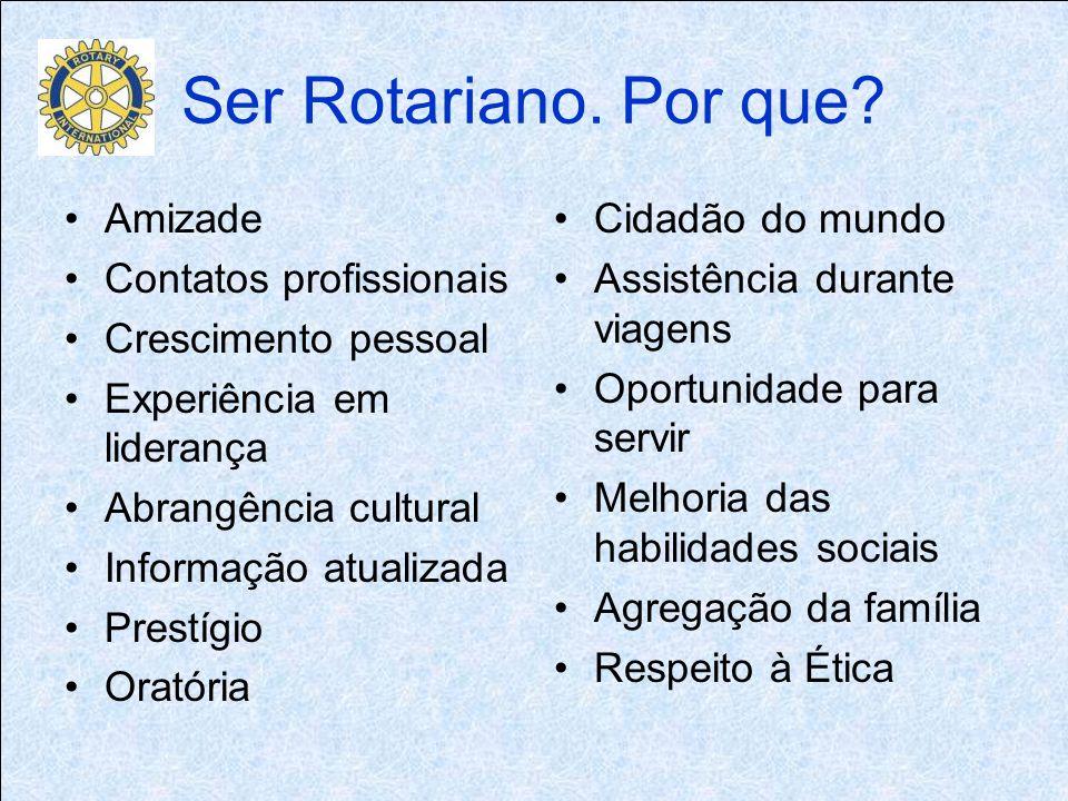 Ser Rotariano. Por que.