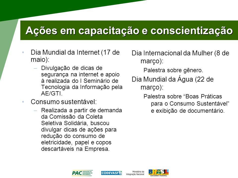 Social: Emergências Objetivo: divulgar campanhas de arrecadação de donativos para situações de emergência enfrentadas no Brasil e no mundo.
