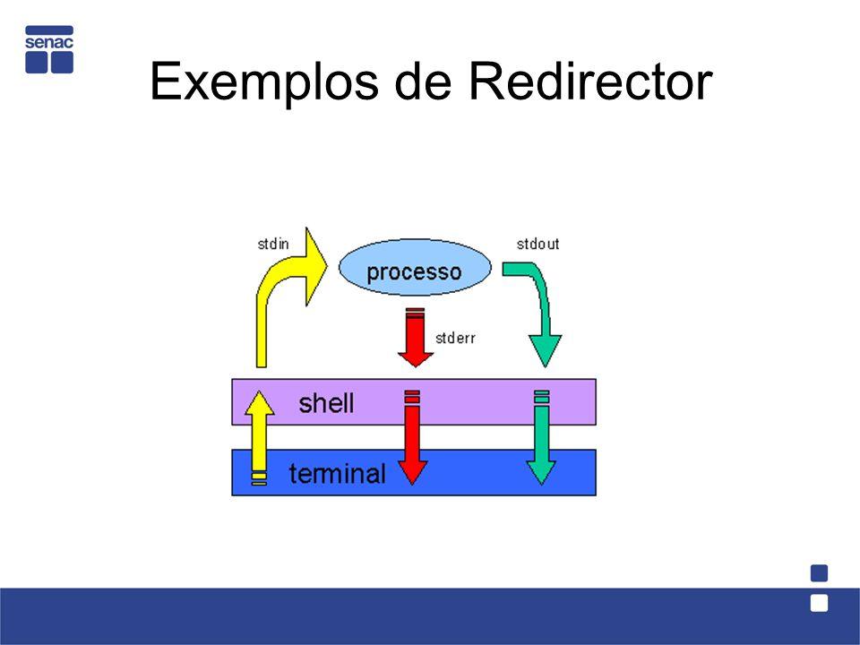 Exemplos de Redirector