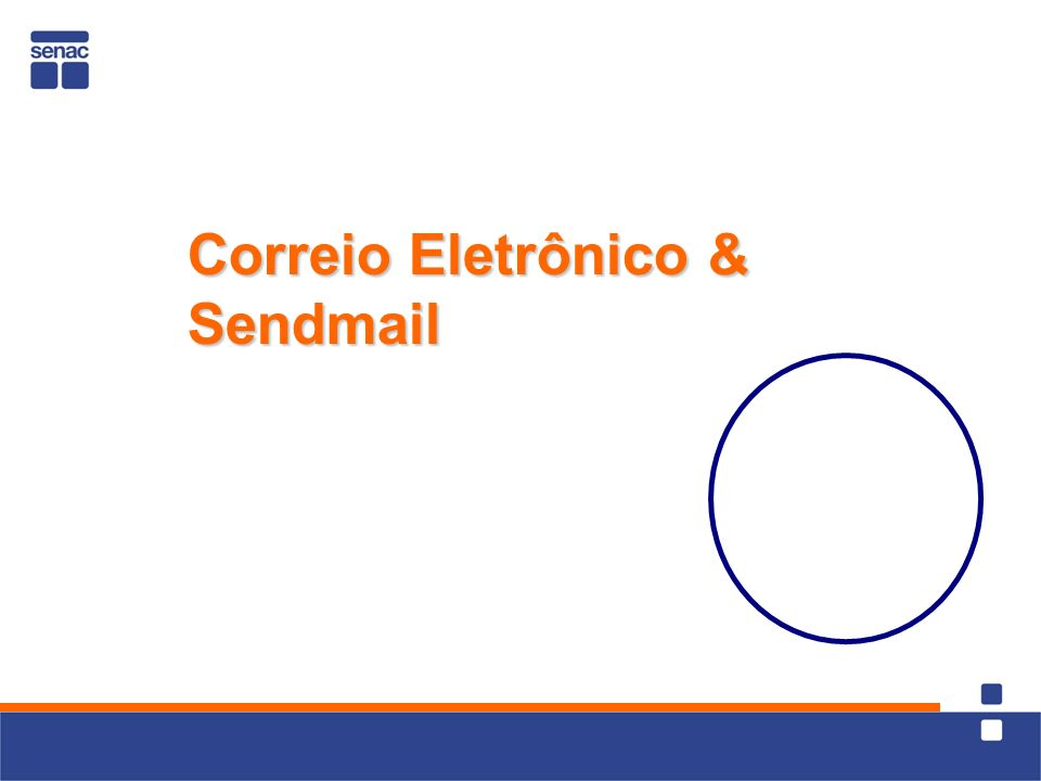 Correio Eletrônico & Sendmail