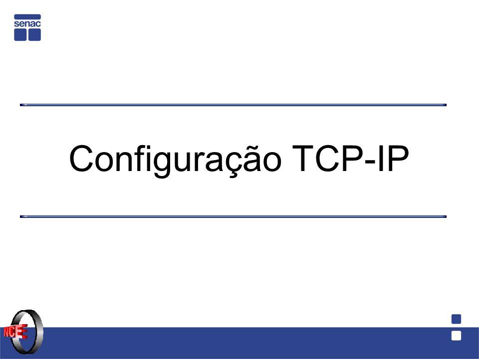 Configuração TCP-IP