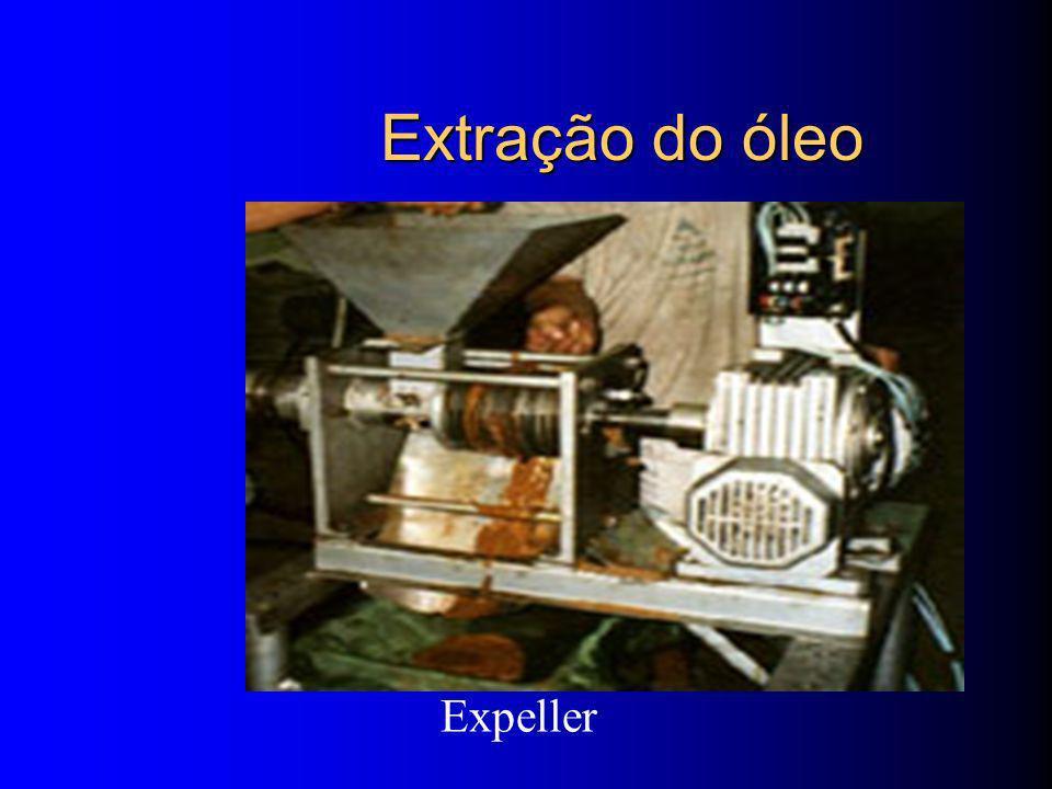 Extração do óleo Expeller
