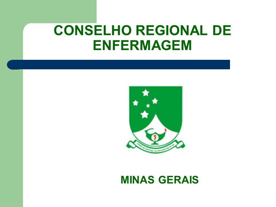 CONSELHO REGIONAL DE ENFERMAGEM MINAS GERAIS