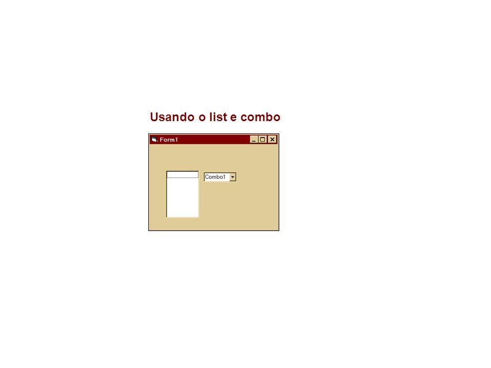 6.4 Imprimir Private Sub Command2_Click() On Error Resume Next With CommonDialog1.CancelError = True.DialogTitle = Salvar como .DefaultExt = rtf .Filter = textos (*.txt, *.dat) |*.txt; *.dat| todos (*.*)|*.*| .FilterIndex = 1.Flags = cdlOFNFileMustExist + cdlOFNExplorer + cdlOFNLongNames.ShowSave End With Label2.Caption = CommonDialog1.filename End Sub Private Sub Command3_Click() On Error Resume Next With CommonDialog1.CancelError = True.DialogTitle = Imprimir .Flags = cdlPDReturnDC + cdlPDNoPageNums.ShowPrinter End With End Sub 6.3 Salvar como