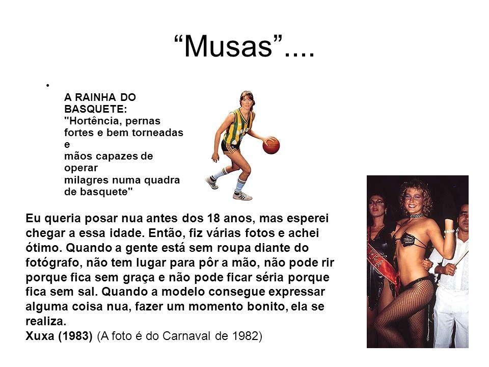 Musas.... A RAINHA DO BASQUETE: