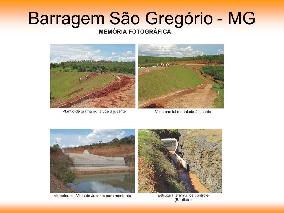 Barragem São Gregório - MG