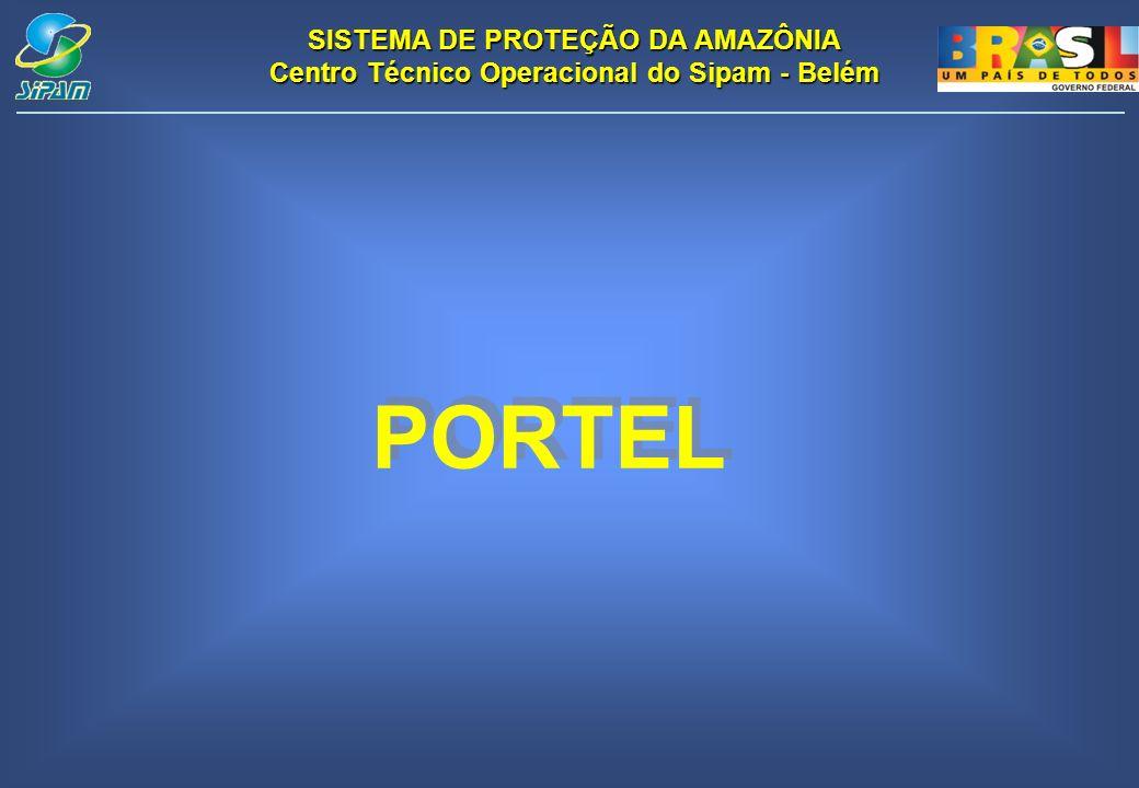 SISTEMA DE PROTEÇÃO DA AMAZÔNIA Centro Técnico Operacional do Sipam - Belém PORTEL