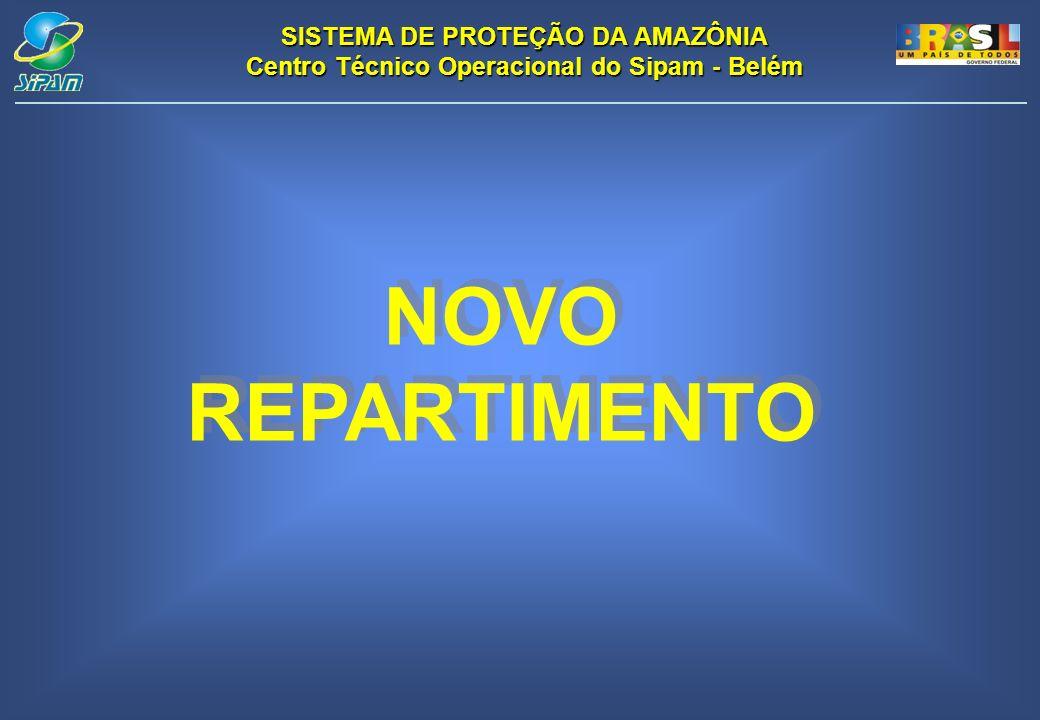 SISTEMA DE PROTEÇÃO DA AMAZÔNIA Centro Técnico Operacional do Sipam - Belém NOVO REPARTIMENTO