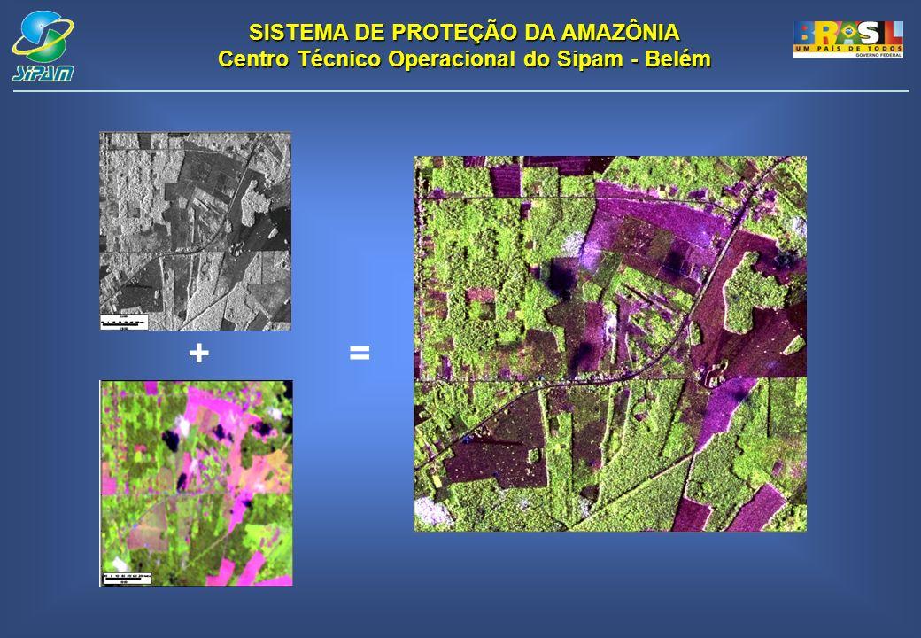 SISTEMA DE PROTEÇÃO DA AMAZÔNIA Centro Técnico Operacional do Sipam - Belém +=