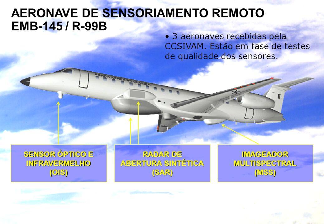 SISTEMA DE PROTEÇÃO DA AMAZÔNIA Centro Técnico Operacional do Sipam - Belém RADAR DE ABERTURA SINTÉTICA (SAR)IMAGEADORMULTISPECTRAL(MSS) SENSOR ÓPTICO