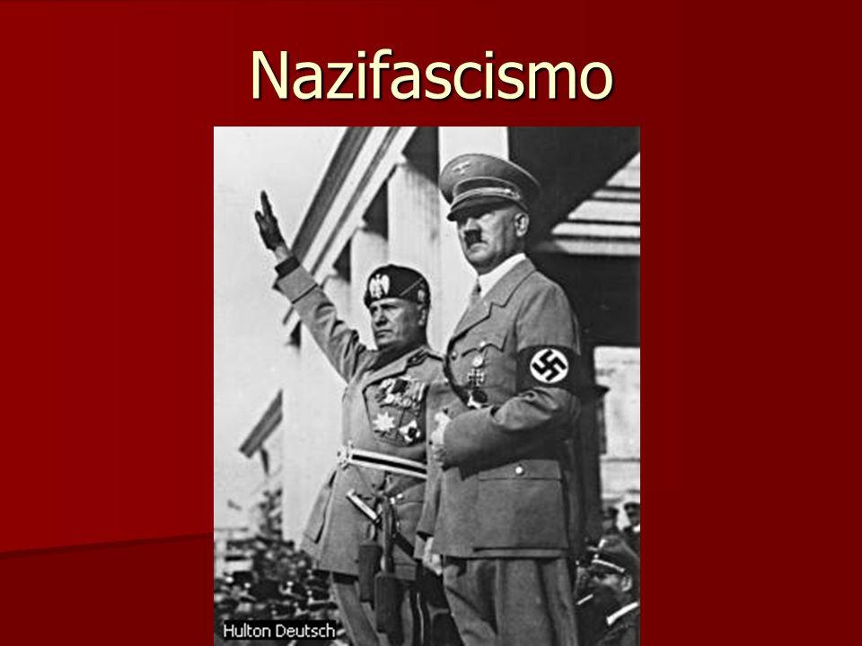 Nazismo Nazismo : termo vindo do alemão Nationalsozialistische Deutsche Arbeiterpartei ou Partido Nacional- Socialista dos Trabalhadores Alemães ou ainda, NSDAP O Nazismo aconteceu na Alemanha no período de 1933 até 1945, liderado por Adolf Hitler (o Führer).