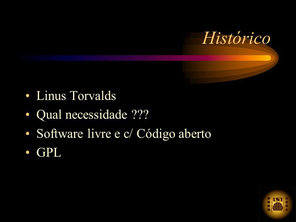 Linus Torvalds Qual necessidade ??? Software livre e c/ Código aberto GPL