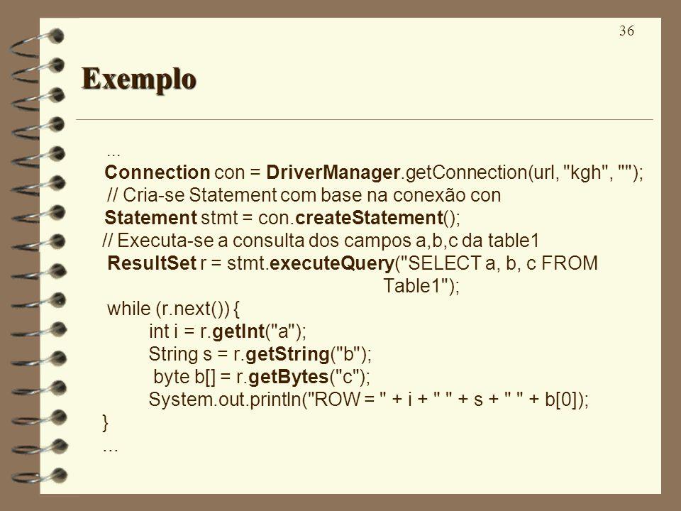 36 Exemplo...