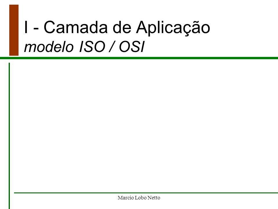 Marcio Lobo Netto I - Camada de Aplicação notas finais