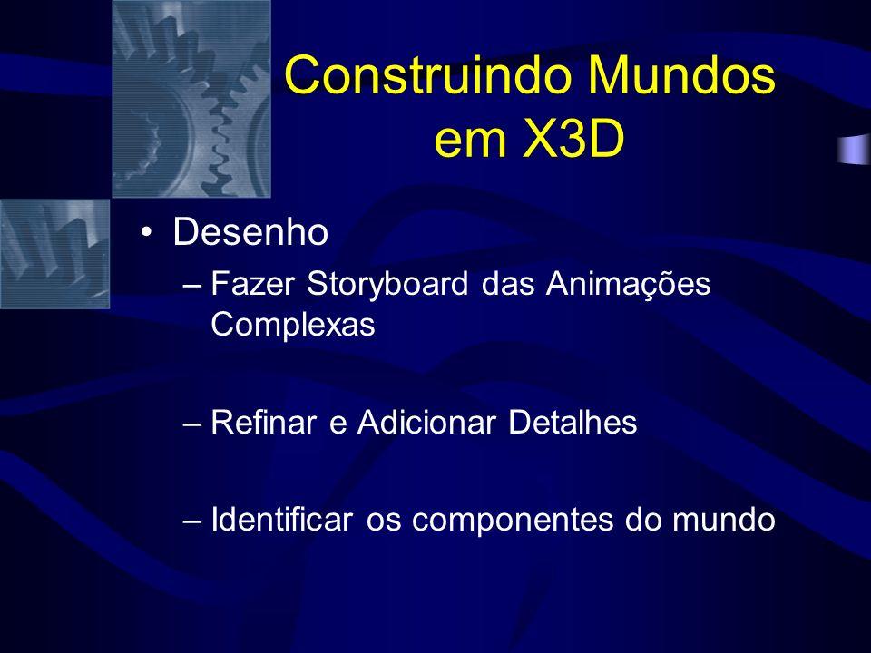 Construindo Mundos em X3D XML em Bases Relacionais