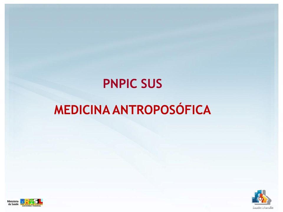 PNPIC SUS MEDICINA ANTROPOSÓFICA