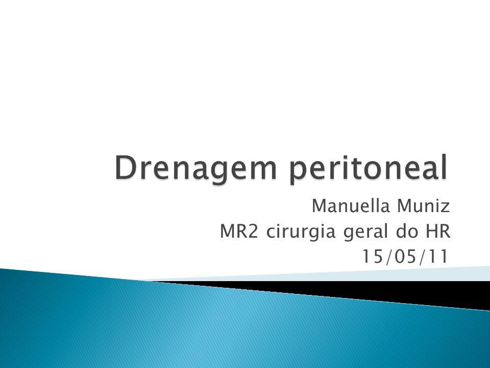 Manuella Muniz MR2 cirurgia geral do HR 15/05/11