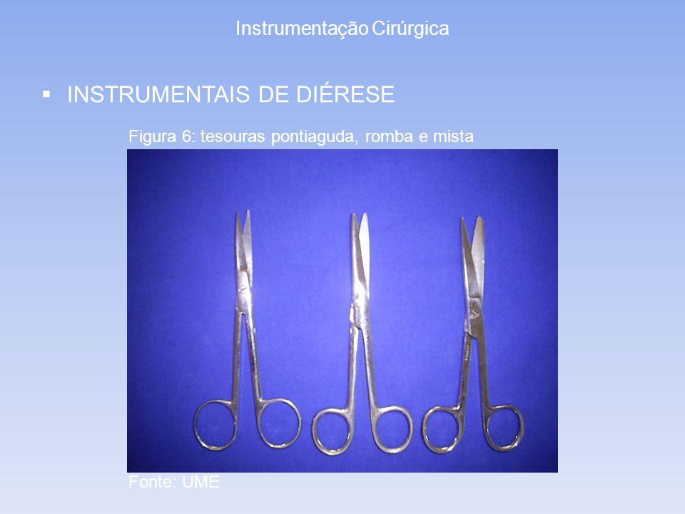 Instrumentação Cirúrgica INSTRUMENTAIS DE AFASTAMENTO –Estáticos Figura 15: Afastador de FinochiettoFigura 16: Afastador de Gosset Fonte: www.edlo.com.br/img/ produtos
