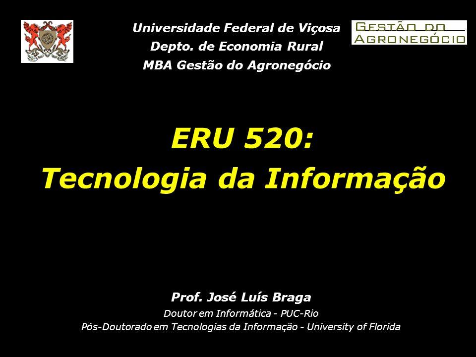 ERU 520: Tecnologia da Informação Prof.