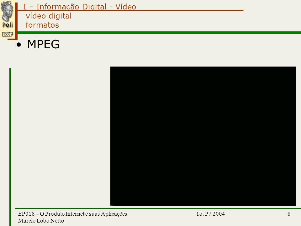 I – Informação Digital - Vídeo 1o.