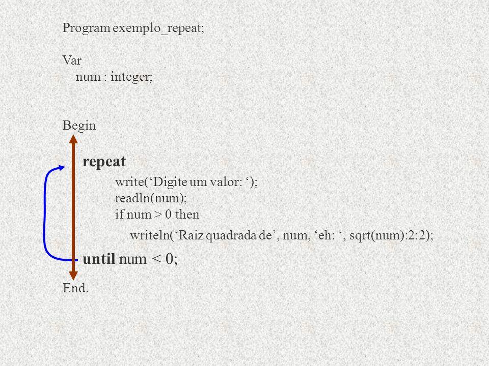Program exemplo_repeat; Begin End.