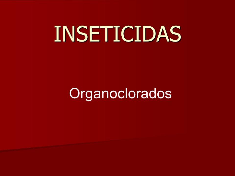 INSETICIDAS Organoclorados