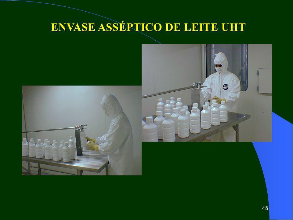 48 ENVASE ASSÉPTICO DE LEITE UHT