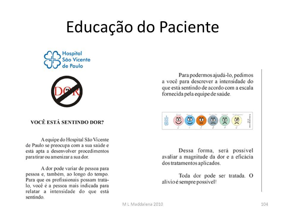 Educação do Paciente M L Maddalena 2010104