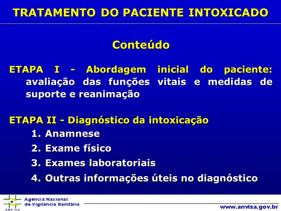 ADSORVENTES - CARVÃO ATIVADO ADSORVENTES - CARVÃO ATIVADOINDICAÇÕES: - ingestão de doses potencialmente tóxicas - agente tóxico de ação prolongada ou com circulação entero-hepática entero-hepática - em caso de suspeita de ingestão concomitante de outras substâncias ADMINISTRAÇÃO: via oral ou sonda nasogástrica, em suspensão, diluído 1:4 ou 1:8 DOSE (isolada ou seriada): Crianças - total de 1 a 2 g/kg de peso Adultos - 50 a 100 g/dose DESCONTAMINAÇÃO GASTRINTESTINAL A- Interromper ou diminuir a exposição