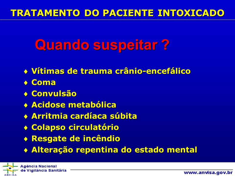 Principais antídotos e antagonistas B- Administração de antídotos/antagonistas ANTÍDOTOS/ANTAGONISTAS N-Acetilcisteína (Fluimucil)..................