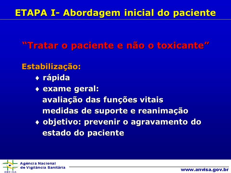 Manifestações clínicas excitação do SNCexcitação do SNC hipertensãohipertensão arritmias cardíacasarritmias cardíacas convulsõesconvulsões Agentes prováveis cocaínacocaína anfetaminasanfetaminas aminofilinaaminofilina efedrinaefedrina nafazolinanafazolina cafeínacafeína antagonista adrenérgicosantagonista adrenérgicos teofilinateofilina fenilpropanolaminafenilpropanolamina PRINCIPAIS SÍNDROMES TÓXICAS B- EXAME FÍSICO Síndrome simpatomimética