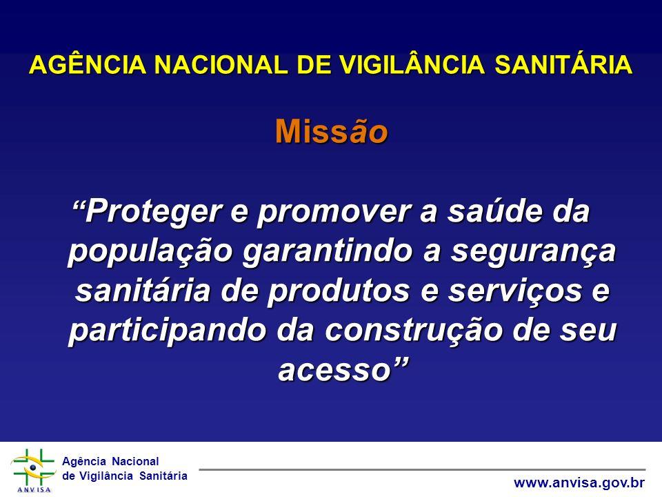 Agência Nacional de Vigilância Sanitária www.anvisa.gov.br Padronização de rótulos e bulas