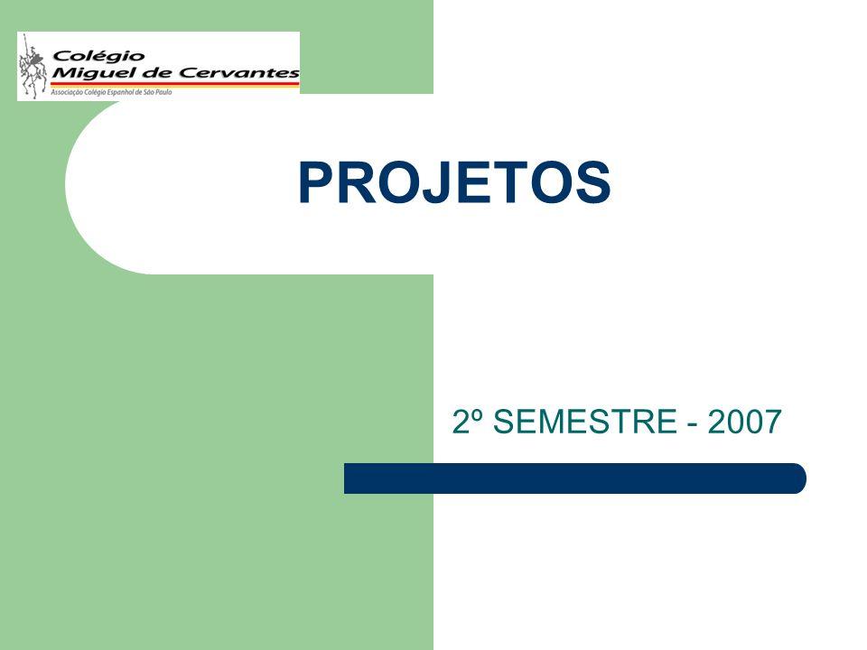 CRITÉRIOS DE ESCOLHA 2º SEMESTRE: As escolhas serão feitas na ordem de classificação que dependem do rendimento acadêmico do aluno no 1º semestre.