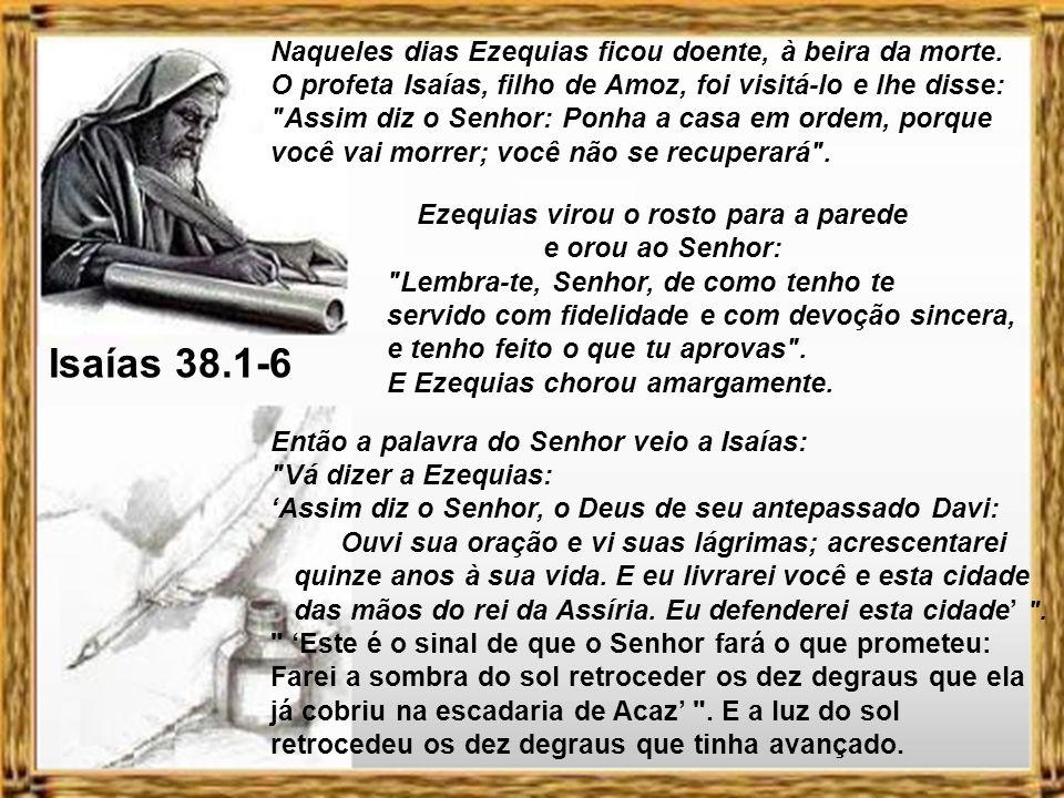 Se o meu povo, que se chama pelo meu nome, se humilhar e orar, buscar a minha face e se afastar dos seus maus caminhos, dos céus o ouvirei, perdoarei