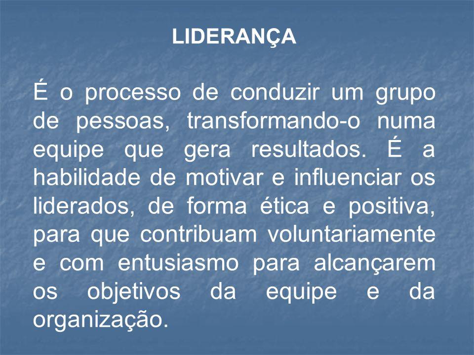 TIPOS DE LIDERANÇA Liderança Autocrática Liderança Autocrática Liderança Democrática Liderança Democrática Liderança Liberal Liderança Liberal Liderança Paternalista Liderança Paternalista