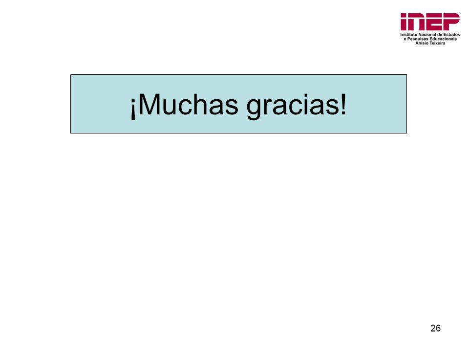 26 ¡Muchas gracias!