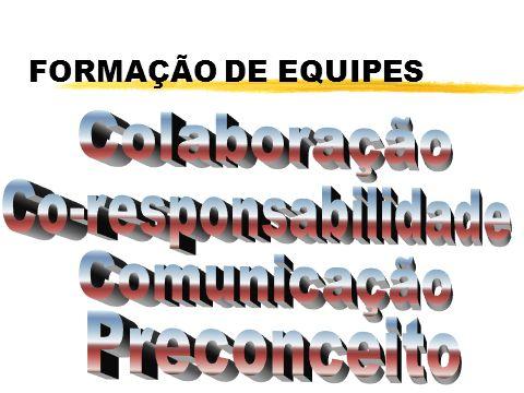FORMAÇÃO DE EQUIPES