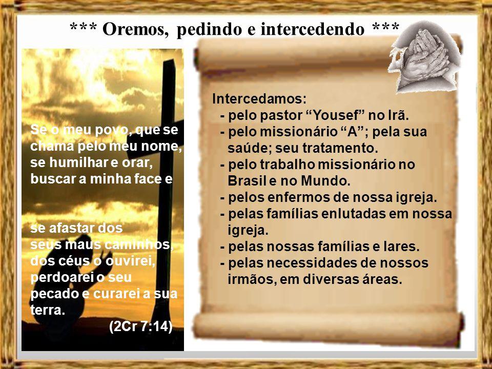 Jeremias Meditação sobre Jeremias 5 V.7-13 = A desobediência 7 Por que deveria eu perdoar-lhe isso.