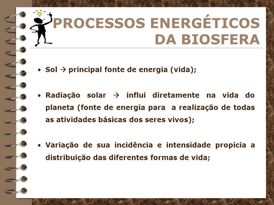 4 Todos os seres vivos retiram do ambiente a energia e as substâncias necessárias ao seu metabolismo.